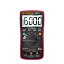 Multimètre digital professionnel rouge